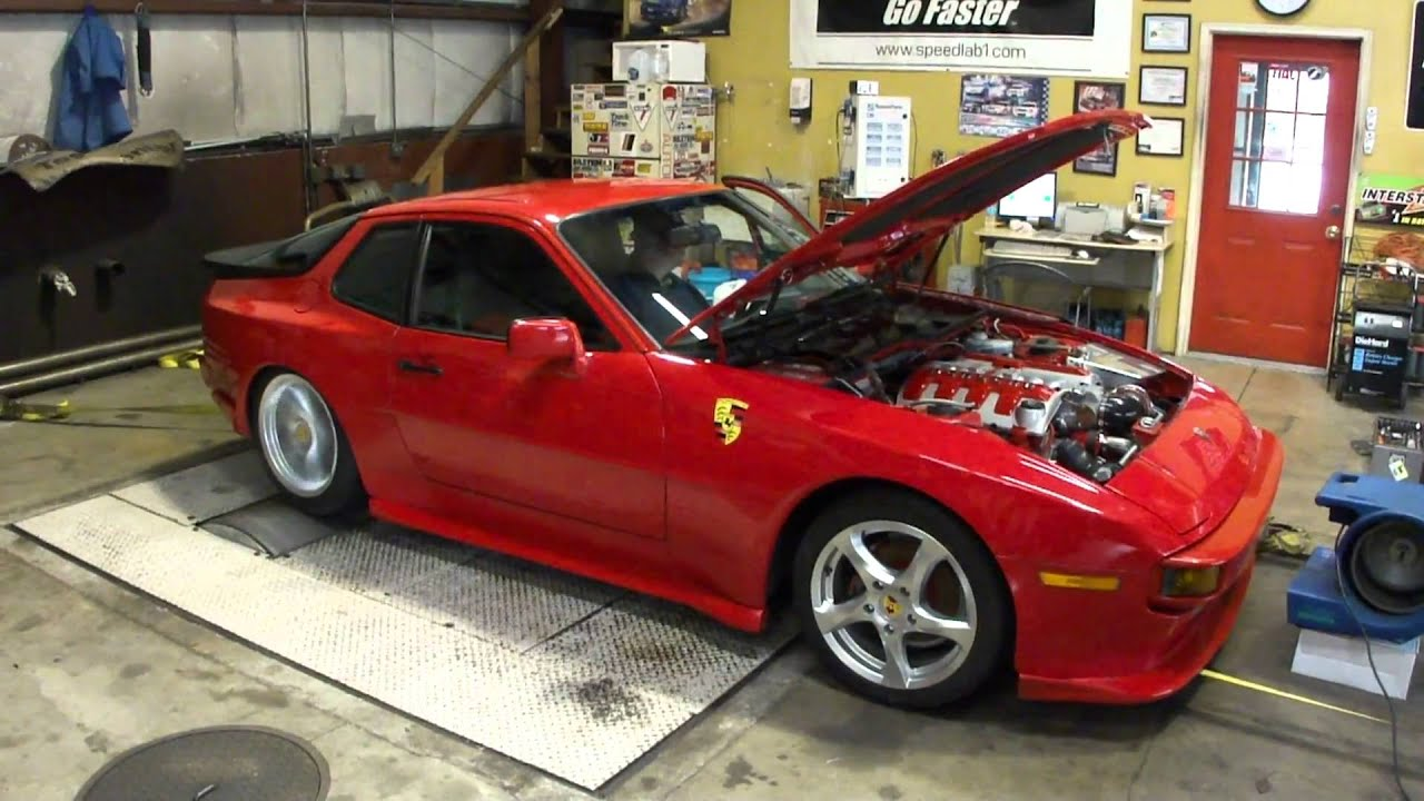 Porsche 944 Built Ls1 Dyno Pull Youtube