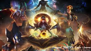 League Of Legends: ODYSSEY Login theme- Guitar portion extende…