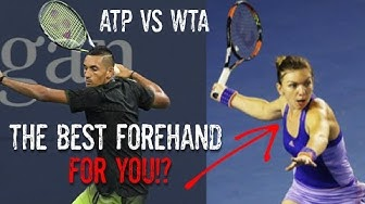 ATP vs WTA Forehands - Which One Is Better For You?