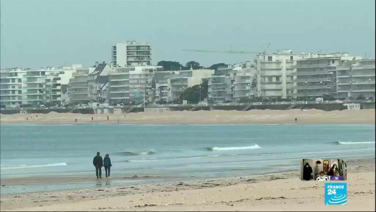 """Déconfinement en France : réouverture de plages """"en mode dynamique"""" sur le littoral atlant"""