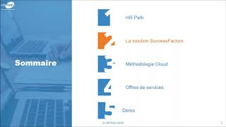 "Enregistrement du webinar hr path ""successfactors module succession & development"", le 20 sept. 2018."