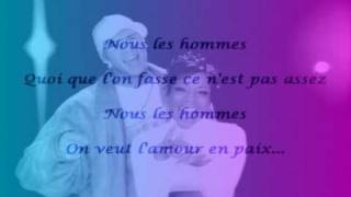Lynnsha -  Hommes Femmes feat. D.Dy.  (paroles)