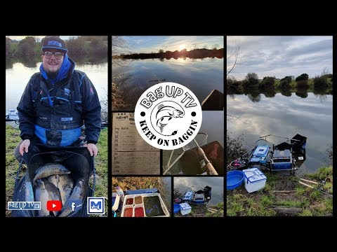 Hallcroft Fishery | Round 2 FeederMasters Winter Pairs | BagUpTV | Match Fishing