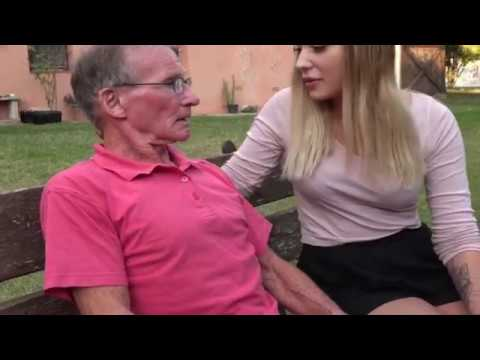 Grandpa kissing hot girl from YouTube · Duration:  1 minutes