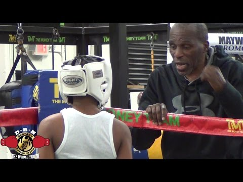 MAYWEATHER SPAR WARS: ROGER MAYWEATHER KID DAMIEN VS NATIONAL CHAMP AKEEM CHEATUM