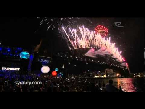 Fireworks displays from around the world herald in 2014