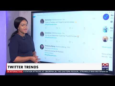Twitter Trends - JoyNews Interactive (24-8-21)