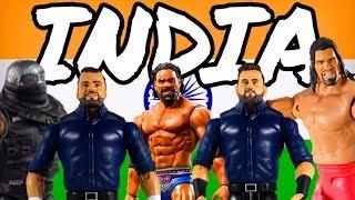 INDIAN WWE Superstar Action Figures From Mattel - डब्लू डब्लू ई कुश्ती के आंकड़े