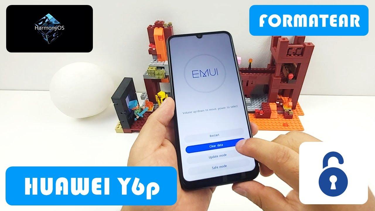 Formatear Huawei Y6p