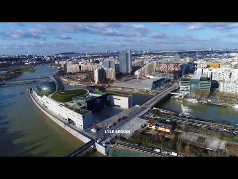Video drone Boulogne Billancourt