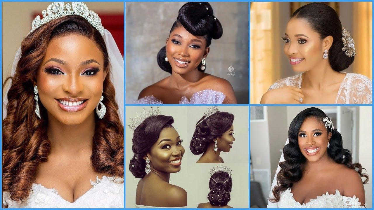 18 Black Women Wedding Hairstyles   18 Gorgeous Bridal Hairstyles That  Look Great On Black Women