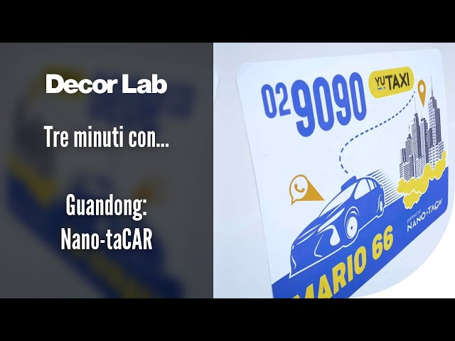 Tre minuti con… Guandong: Nano-taCAR