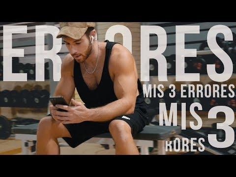 MIS 3  ERRORES EN EL FITNESS