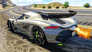 Epic Real Life Car Stunts! - Gta 5 Stunts & Fails