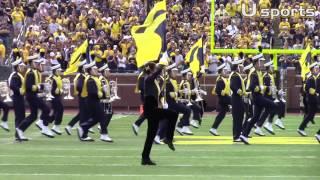 getlinkyoutube.com-University of Michigan Marching Band 9.3.16
