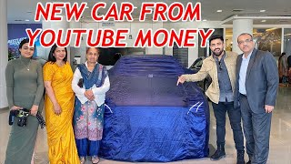 NEW CAR FROM YOUTUBE MONEY...