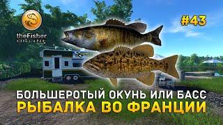 Большеротый окунь или Басс Рыбалка во Франции Fisher Online 43