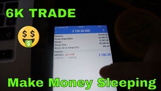 FOREX TRADE! Before & After 6K Sleeping! (how to make money sleeping!) 🤑