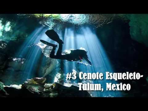 5 Most DANGEROUS Scuba/Cave Diving Locations In The World!