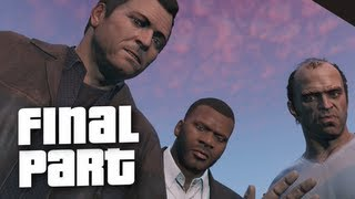One of theRadBrad's most viewed videos: Grand Theft Auto 5 Ending / Final Mission - Gameplay Walkthrough Part 70 (GTA 5)