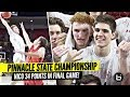 Nico Mannion GOES CRAZY In LAST High School Game & Wins State Championship!!!