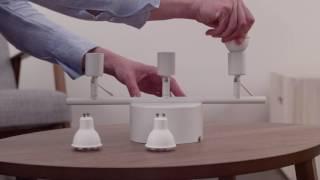 Hvordan legge til lyspære i fjernkontroll når lampen har flere lyspærer