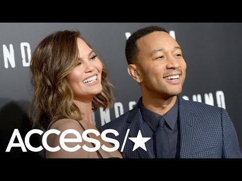 John Legend & Chrissy Teigen Sneak Into Universal Studios With A Stolen Golf Cart! | Access Mp3