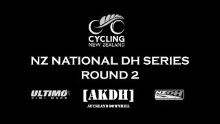 2018 Cycling NZ DH National Series Round #2 - AKDH Dome Valley