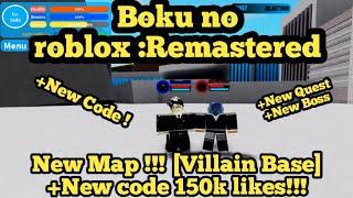 Boku no roblox :Remastered - New Map + New code 150k Likes !!!