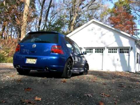 VW R32 Exhaust No Resonator