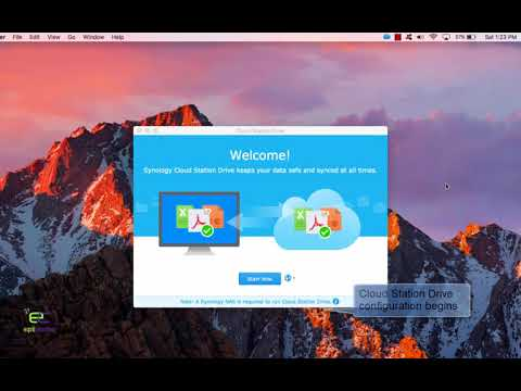 Synology Cloud Station in Mac