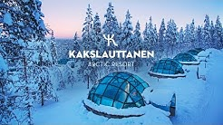 OFFICIAL - Kakslauttanen Arctic Resort in wintertime