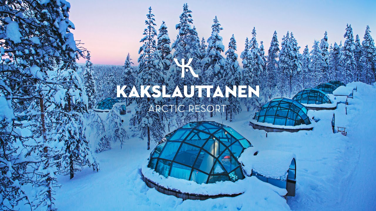 Official Kakslauttanen Arctic Resort In Wintertime Youtube