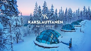 OFFICIAL - Kakslauttanen Arctic Resort in wintertime thumbnail