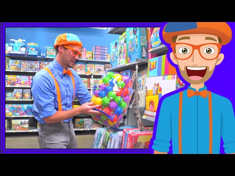 Thumbnail: Blippi Toy Store | Educational Videos for Preschoolers