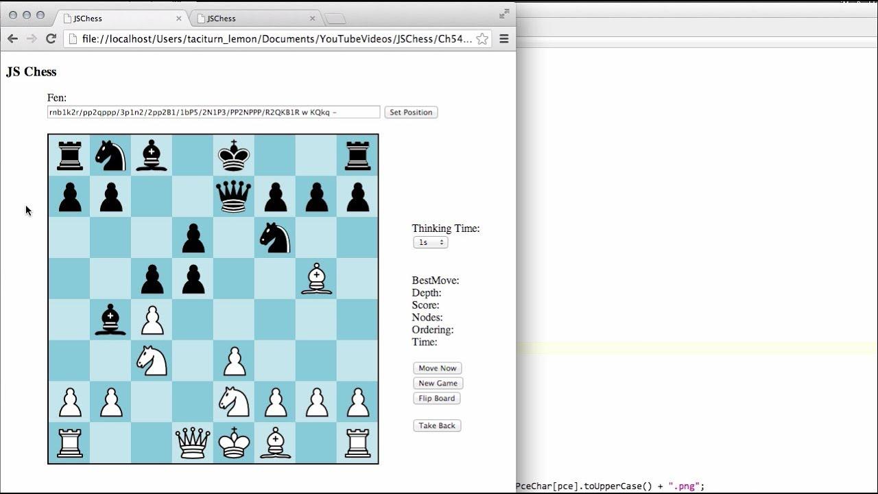 Javascript Engine Chess - Автомобили и Машины