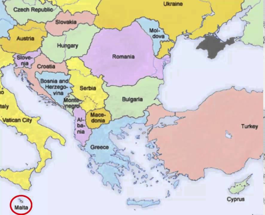 southern europe geography lesson