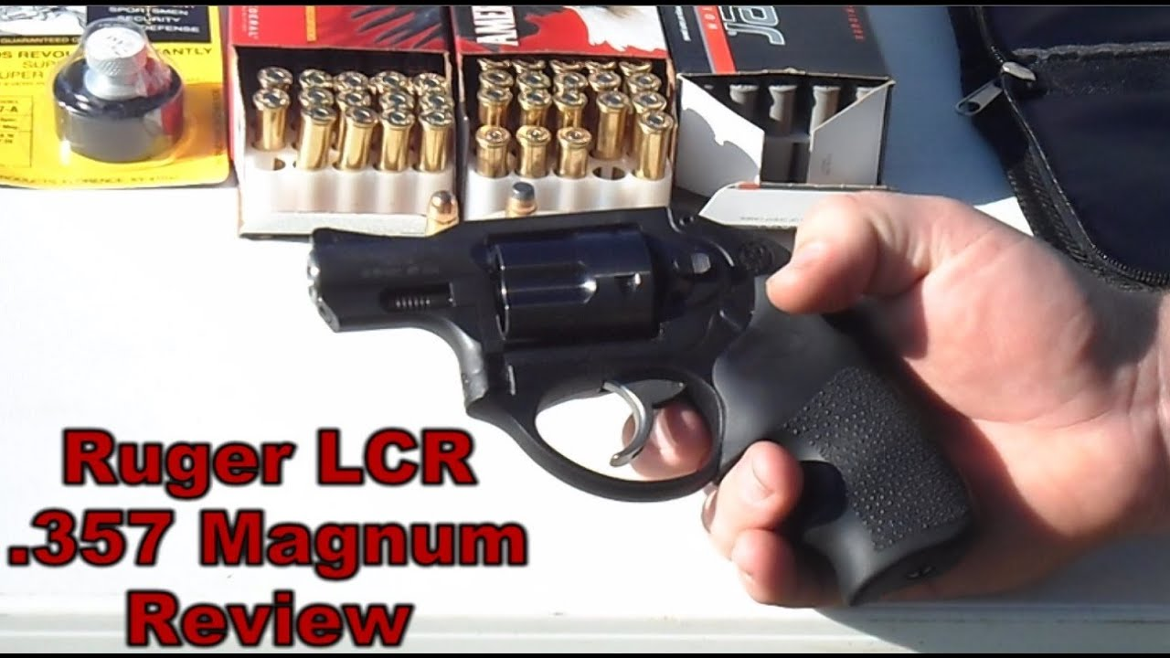 Ruger Lcr 357 Magnum Revolver Firearm Review Hd