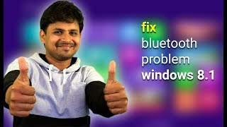 Fix Bluetooth Not Working on Windows 8.1