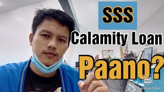 Paano Mag Apply ng SSS CALAMITY LOAN | Step by Step 2020