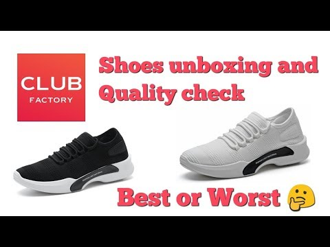 771a3e10c Club Factory Men Shoes Unboxing and Quality Check || Best or Worst ||  Haryanvi Media. - YouTube