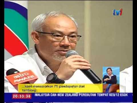 MRT CORP SASAR PENDAPATAN CECAH RM25 JUTA SETAHUN [13 DIS 2016]