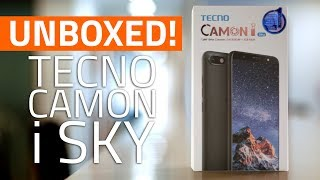 Tecno Camon i Sky Unboxing and First Look | Price. Specifications, Features, and More