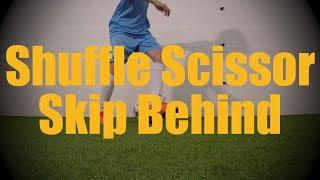 shuffle scissor skip behind fast footwork drills soccer football training for u12 u13