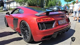 LOUDEST 2016 Audi R8 V10 Plus EVER!? That ASG Exhaust Sounds MAD!
