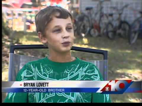 12-year-old boy saves brother's life