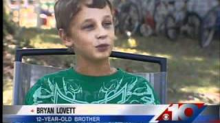 12-year-old boy saves brother