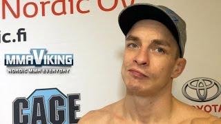 Joni Salovaara Talks About Controversial Win at CAGE 32
