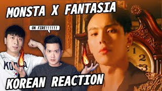 ?(ENG) KOREAN RAPPERS react to MONSTA X 몬스타엑스 'FANTASIA'?