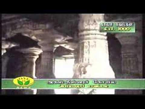 Rotating stupa [pillar]Agastiswarar Temple
